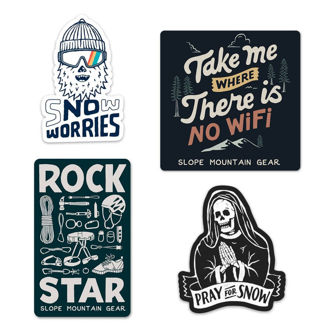 Slope Sticker Pack - Slope Mountain Gear