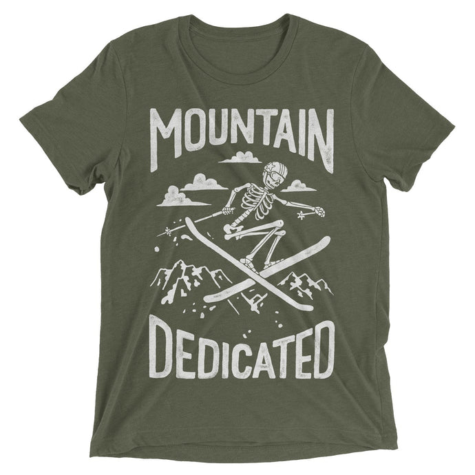Skeleton Skier T-Shirt - Slope Mountain Gear
