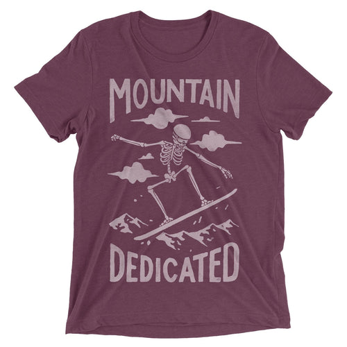 Skeleton Snowboarder T-Shirt - Slope Mountain Gear