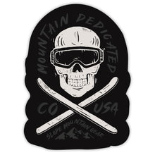 Load image into Gallery viewer, Mountain Dedicated Skull Sticker - Slope Mountain Gear