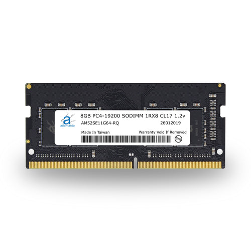 Adamanta 8GB PC4-19200 SODIMM 1Rx8 CL17 1.2v - Adamanta
