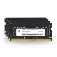 Load image into Gallery viewer, Adamanta 32GB (4x8GB) PC4-19200 SODIMM 1Rx8 CL17 1.2v for 2017 iMac - Adamanta