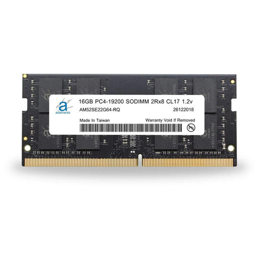 Adamanta 16GB (1x16GB) PC4-19200 SODIMM 2Rx8 CL17 1.2v for 2017 iMac - Adamanta