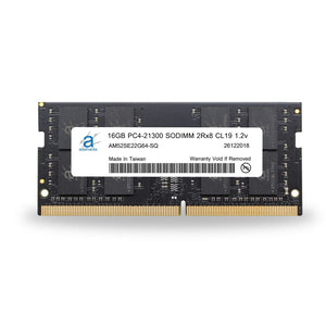 Adamanta 16GB (1x16GB) PC4-21300 SODIMM 2Rx8 CL19 1.2v for 2019 iMac & 2018 Mac Mini - Adamanta