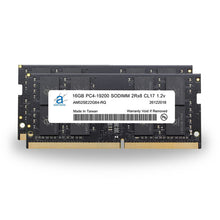 Load image into Gallery viewer, Adamanta 32GB (2x16GB) PC4-21300 SODIMM 2Rx8 CL19 1.2v for 2019 iMac & 2018 Mac Mini - Adamanta