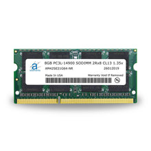 Load image into Gallery viewer, Adamanta 8GB (1x8GB) PC3L-14900 SODIMM 2Rx8 CL13 1.35v for Late 2015 iMac - Adamanta