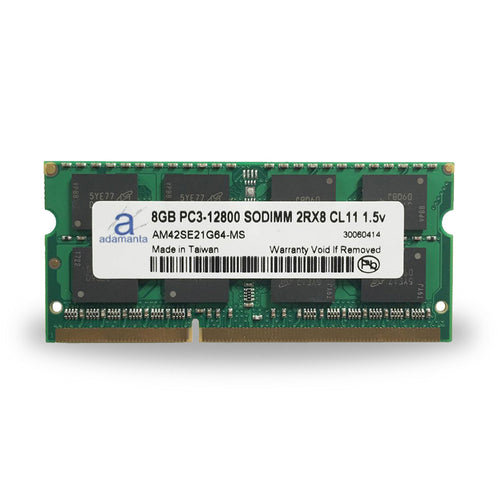Adamanta 8GB PC3-12800 SODIMM 2Rx8 CL11 1.5v - Adamanta