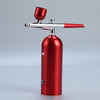 Portable Airbrush Compressor Kit Rechargeable Spray Pump Tattoo Paint Craft Sprayer