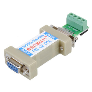 RS232 To RS485 Convertor UT-201 DB9 Female Male Connector Transceiver