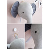 3D Plush Animal Heads Elephant Bear Deer Wall Decor for Children Christmas Birthday Stuffed Plush Toy