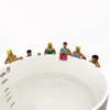 1Pcs New Simulation Character Cup Doll Personalized Cartoon Doll Micro Landscape Cup Hanging Toys