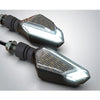 12V Motorcycle LED Turn Signal Lights Running Daytime Light Brightness DRL