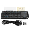 Rii Mini V3/K01 2.4G Wireless Backlit Mini Touchpad Keyboard Airmouse Air Mouse Laser Pointer Presenter for TV Box Mini PC PPT Presentation
