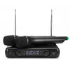 Dual Channel Professional UHF Wireless Microphone System KTV Karaoke System Dual Handheld Mic High-fidelity Amplifier