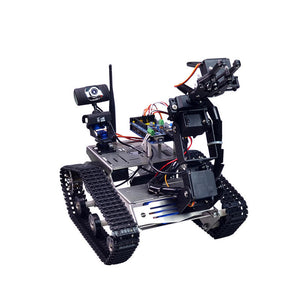 Xiao R DIY Smart Robot Wifi Video Control Tank with Camera Gimbal Compatible with  2560