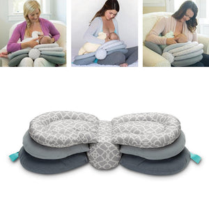 Multifunction Nursing Pillow Newborn Baby Breastfeeding Head Protection Adjustable Infant Feeding