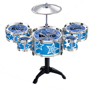 Mini Jazz Drum Rock Kids Education Percussion Musical Instrument Fun Toy Gift