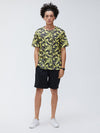 Mens New Fashion Print Crew Neck Short Sleeve T-Shirts