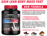 ALLMAX QuickMass Chocolate Peanut Butter 6LB