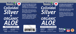 Naka Colloidal Silver & ALoe Gel 340ML