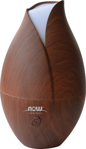 NOW Ultrasonic Faux Wood Oil Diffuser