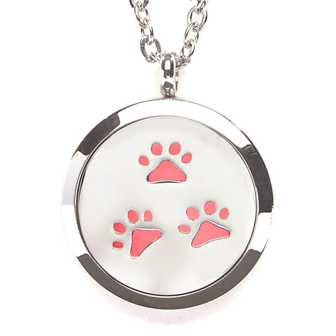 T-Zone Paws Locket Essential Oil Necklace