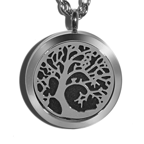 T-Zone Tree Locket Essential Oil Necklace