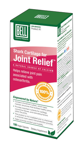 Bell Joint Relief Shark Cartilage 100 Capsules