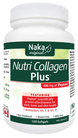 Naka Nutri Collagen Plus 120 Softgels