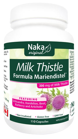 Naka Milk Thistle 110 Caps