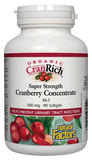 Natural Factors Cranberry Concentrate 90 Softgel