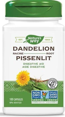 Nature's Way Dandelion Root 100 Capsules