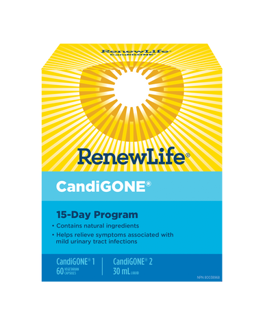 Renew Life Candi Gone 15 Day Cleanse Kit