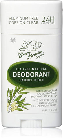 Green Beaver Tea Tree Deodorant Stick 50G