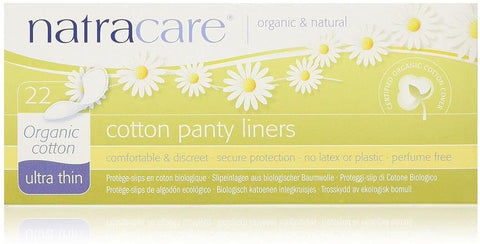 Natracare Ultra Thin Panty Liners 22 Count