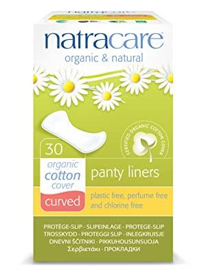 Natracare Curved Panty Liner 30 Count