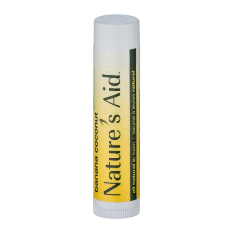Nature's Aid Lip Balm Banana Coconut