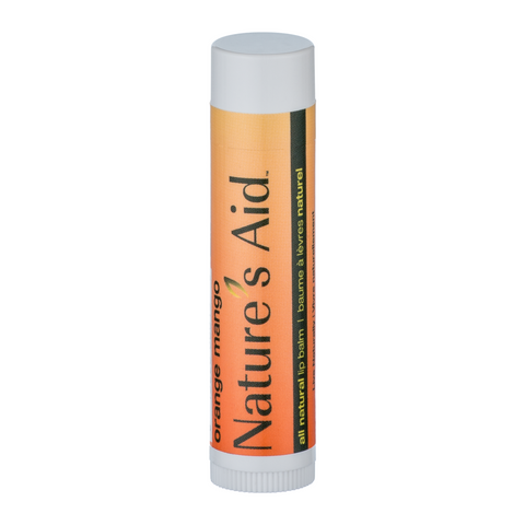 Nature's Aid Lip Balm Orange Mango