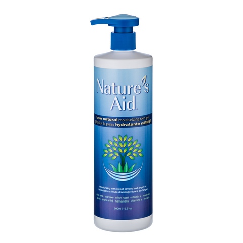 Nature's Aid True Natural Skin Gel 500ML