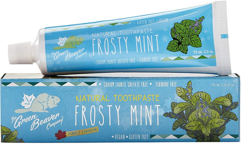 Green Beaver Frosty Mint Toothpaste 75G