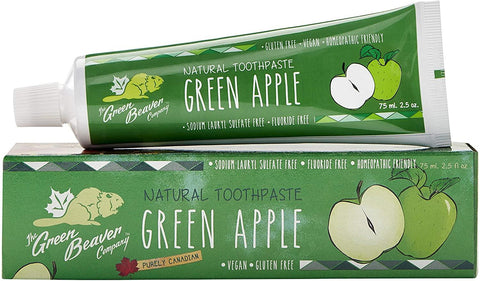 Green Beaver Green Apple Toothpaste 75G