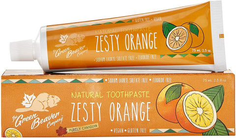 Green Beaver Zesty Orange Toothpaste 75G