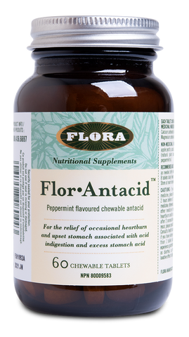 Flora Flor Antacid 60 Chewable Tablet
