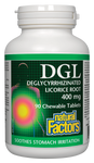 Natural Factors DGL 400MG 90 Chew Tab