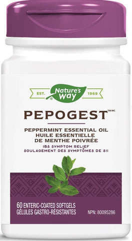 Nature's Way Pepogest 60 Softgels