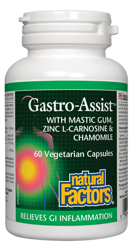 Natural Factors Gastro Assist 60 Capsule