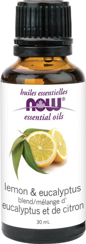 NOW Lemon & Eucalyptus Oil 30ML