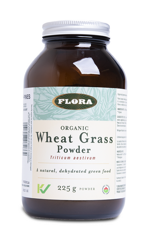 Flora Organic Wheatgrass Powder 225G