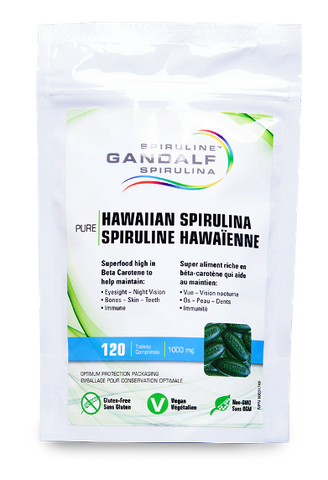 Gandalf Spirulina 120 Tablets