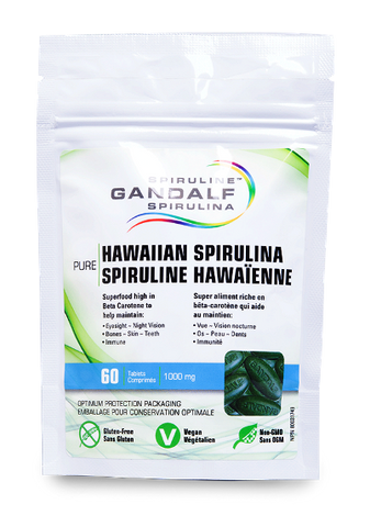 Gandalf Spirulina 60 Tablet
